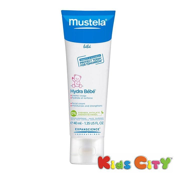 Buy Mustela Hydra Bebe Facial Cream - 40ml (1.35oz) online
