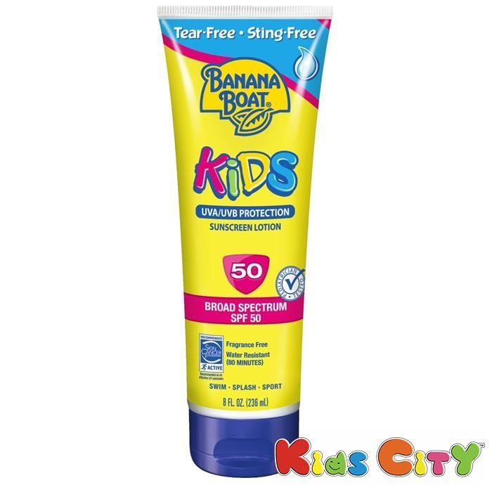 Buy Banana Boat Kids Sunscreen Lotion Spf50 - 236ml (8oz) (pack Of 2) online