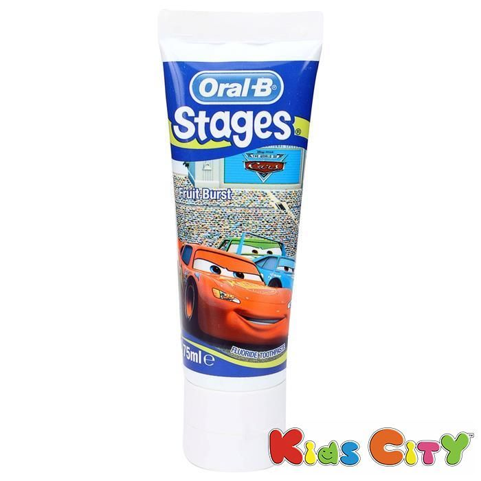 Buy Oral-b Stages Toothpaste 75ml - Fruit Burst online