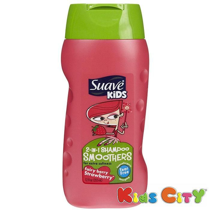 Buy Suave Kids 2 In 1 Shampoo Smoothers 355ml (12oz) - Strawberry online