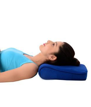 Buy Cervical Pillow Delux Blue online