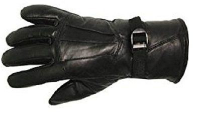 Buy Sphinx Pure Leather Winter Gloves For Men - Black online