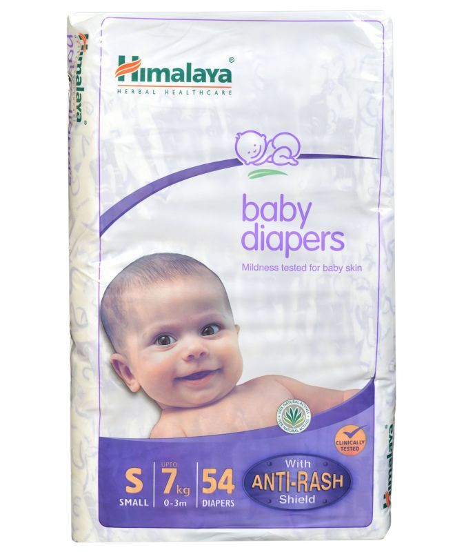 Buy Himalaya Baby Diapers Small 54 Pieces online