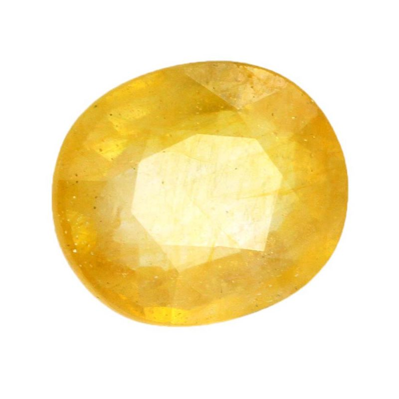 Buy Pukhraj Natural 4.25 Ratti Yellow Sapphire Gemstone - Br-17466_rf online