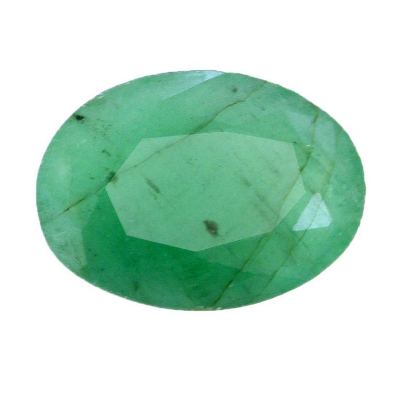 Buy Certified 4.25 Ratti Green Emerald Gemstone - Br-17672_rf online