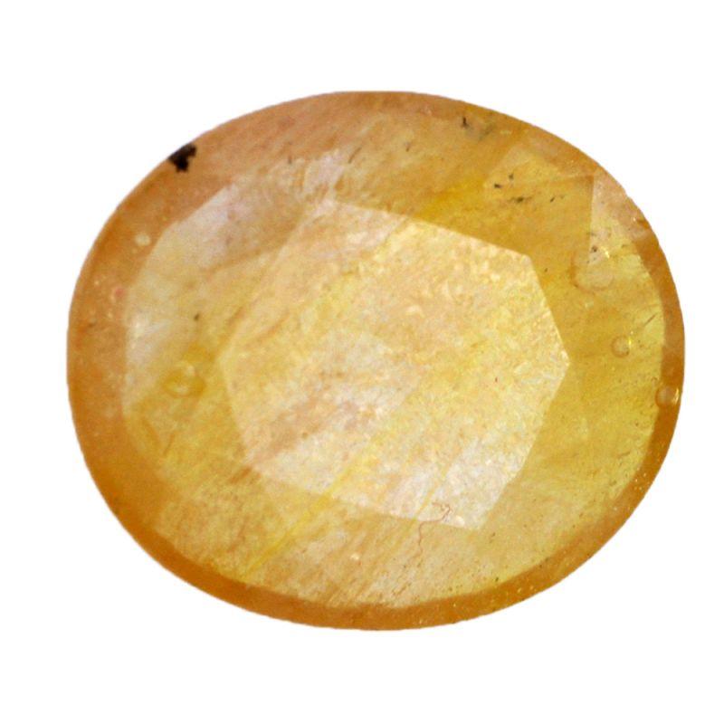 Buy 6.25 Ratti Yellow Sapphire Gemstone - Br-17839_rf online