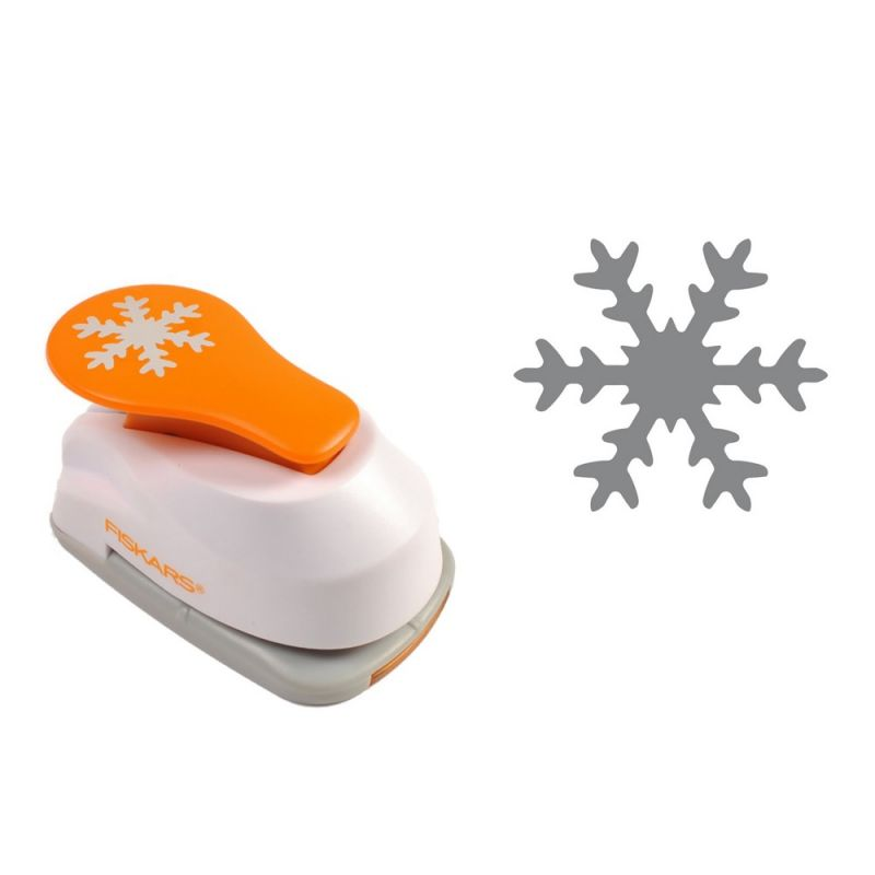 Buy Fiskars Lever Punch Small- Snowflake online