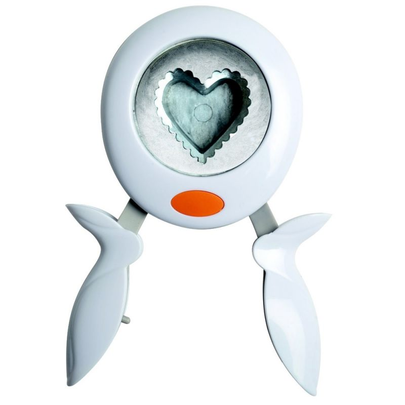Buy Fiskars Squeeze Punch L- Scalloped Heart online
