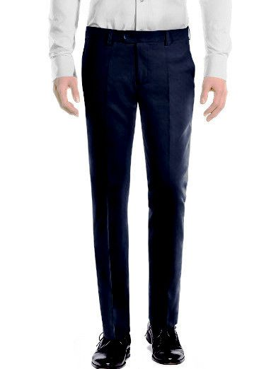 Buy Amar Deep Formal Trouser - Blue online
