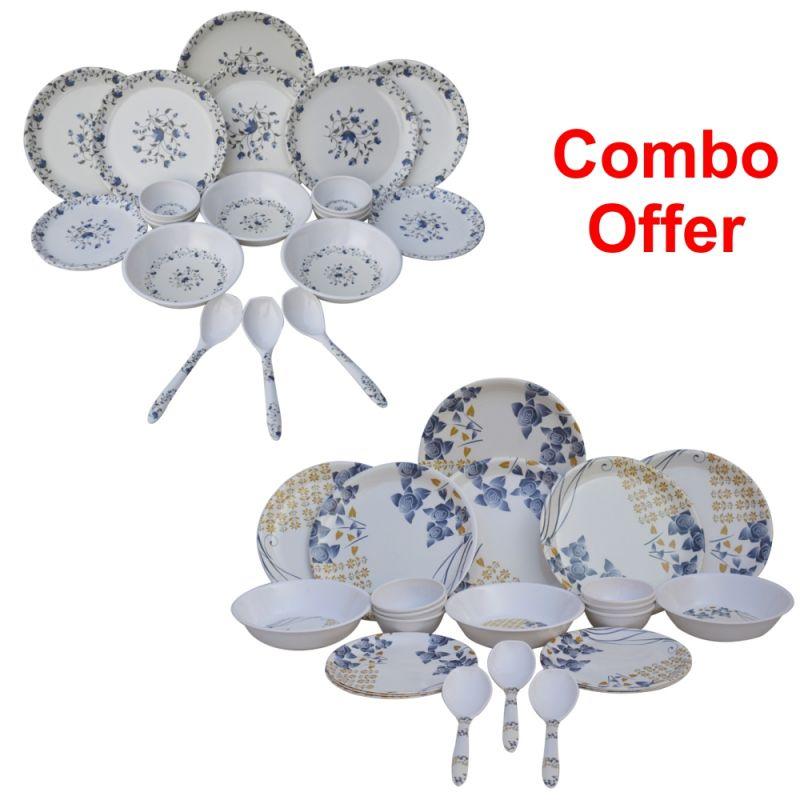 Buy Czar Combo Of 1009 Dinner Set With 1005 online
