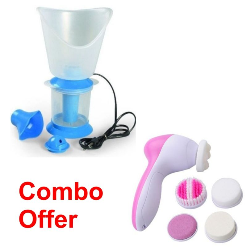 Buy Czar Combo Of Vaporizer With 5 In 1 Beauty Massager online