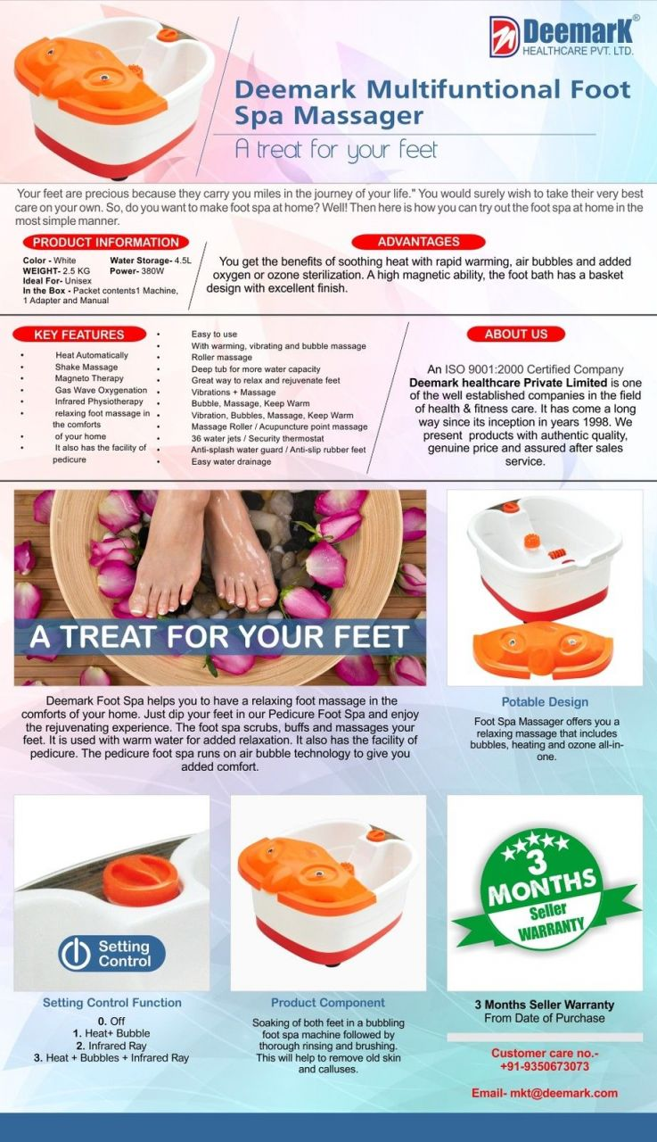 Buy Details About Czar Multifuntion Foot Bath Spa / Massager ...