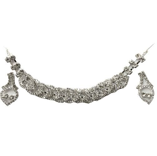 Buy Shilpi Creation's Silver Necklace Set-eidn090916003 online