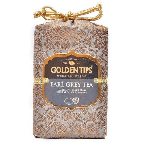 Buy Golden Tips Earl Grey Black Tea - Brocade Bag, 250G online