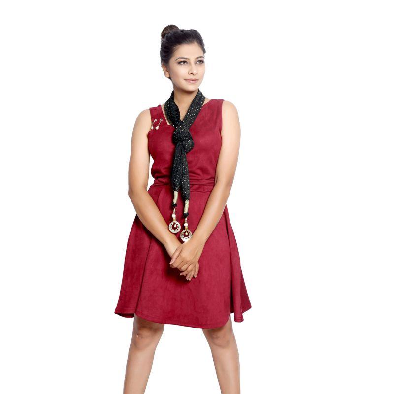 Buy Grishti Women'S Studded Black Stole online