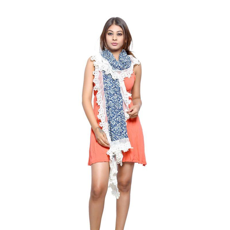 Buy Grishti Women'S Vintage Lace Scarf online