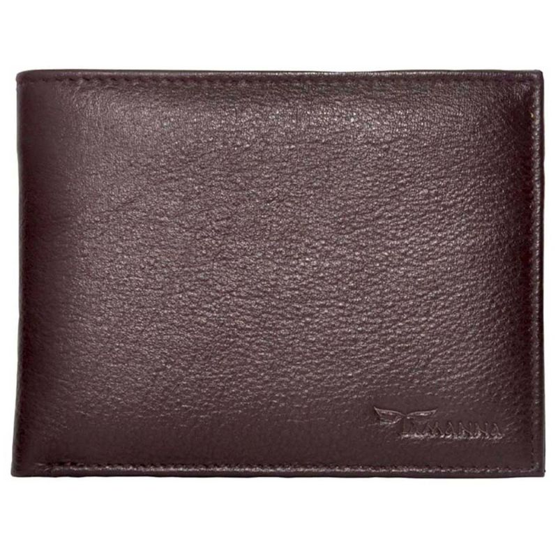 Buy Tamanna Men Brown Genuine Leather Wallet online