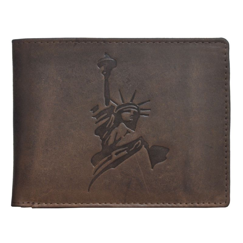 Buy Tamanna Men Brown Genuine Leather Wallet (6 Card Slots) online