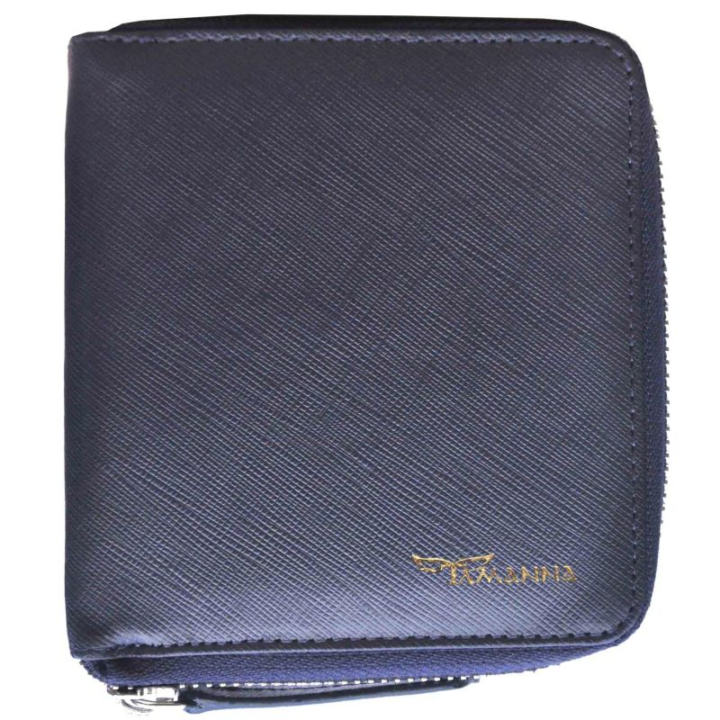 Buy Tamanna Men Blue Genuine Leather Wallet online