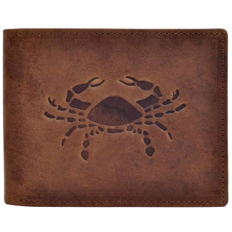 Buy Tamanna Men Brown Genuine Leather Wallet (7 Card Slots) online
