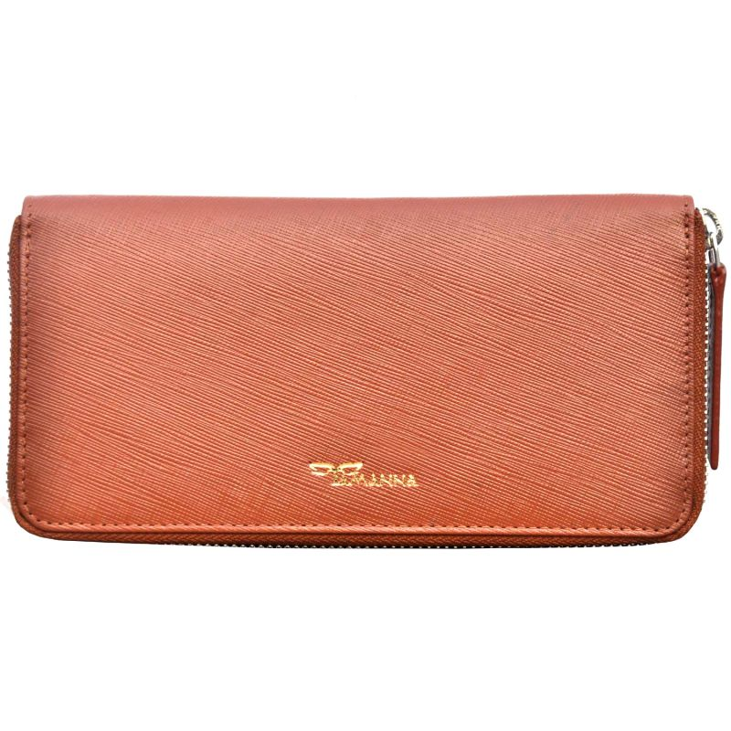 Buy Tamanna Women Tan Genuine Leather Wallet online
