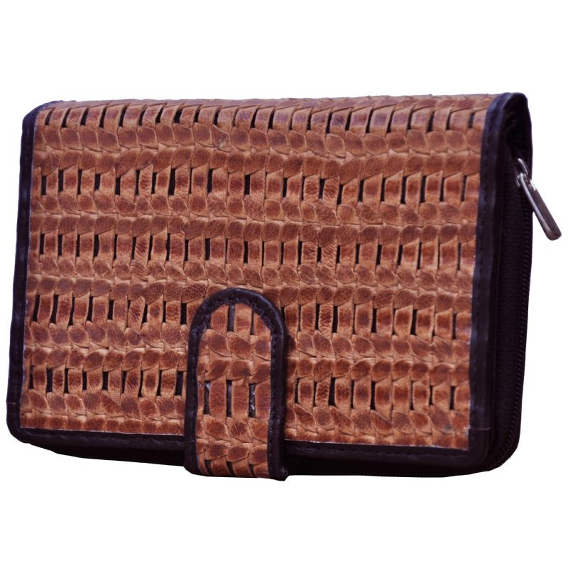 Buy Tamanna Casual Brown And Black Wallet online