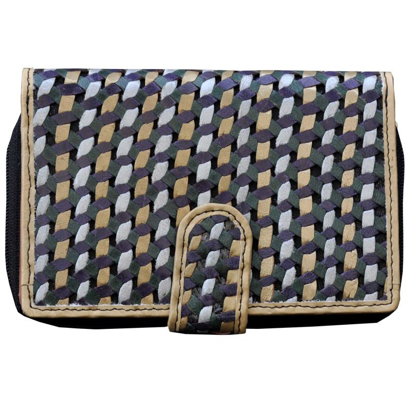Buy Tamanna Women Multi Leather Wallet online