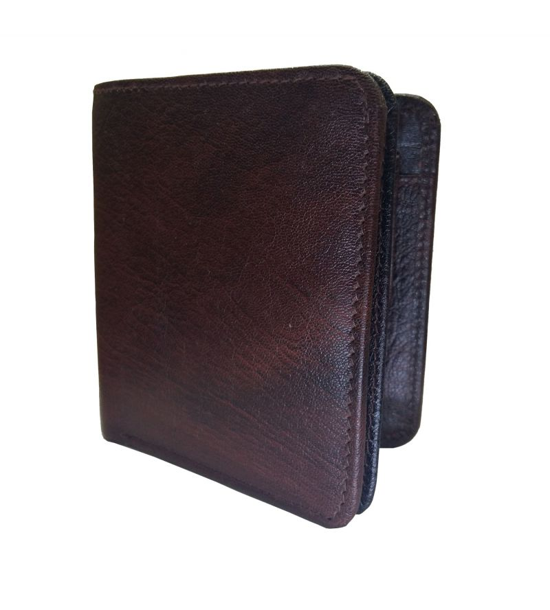 Buy Brown Buffalo Premium Mens Class Genuine Leather Wallet By Getsetstyle online