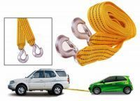 Buy Fibre Car Tow Cable 3 Tonne 2.5 Mtrs Heavy Duty Towing Rope For Automobiles online