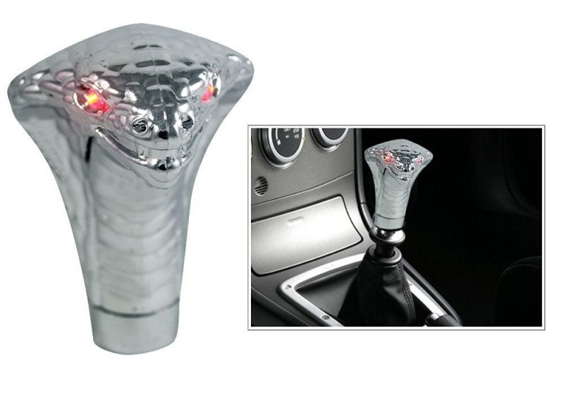 Buy Autoright Snake Glow Eyes Gear Knob/ Gear Shift Knob For Skoda Rapid online