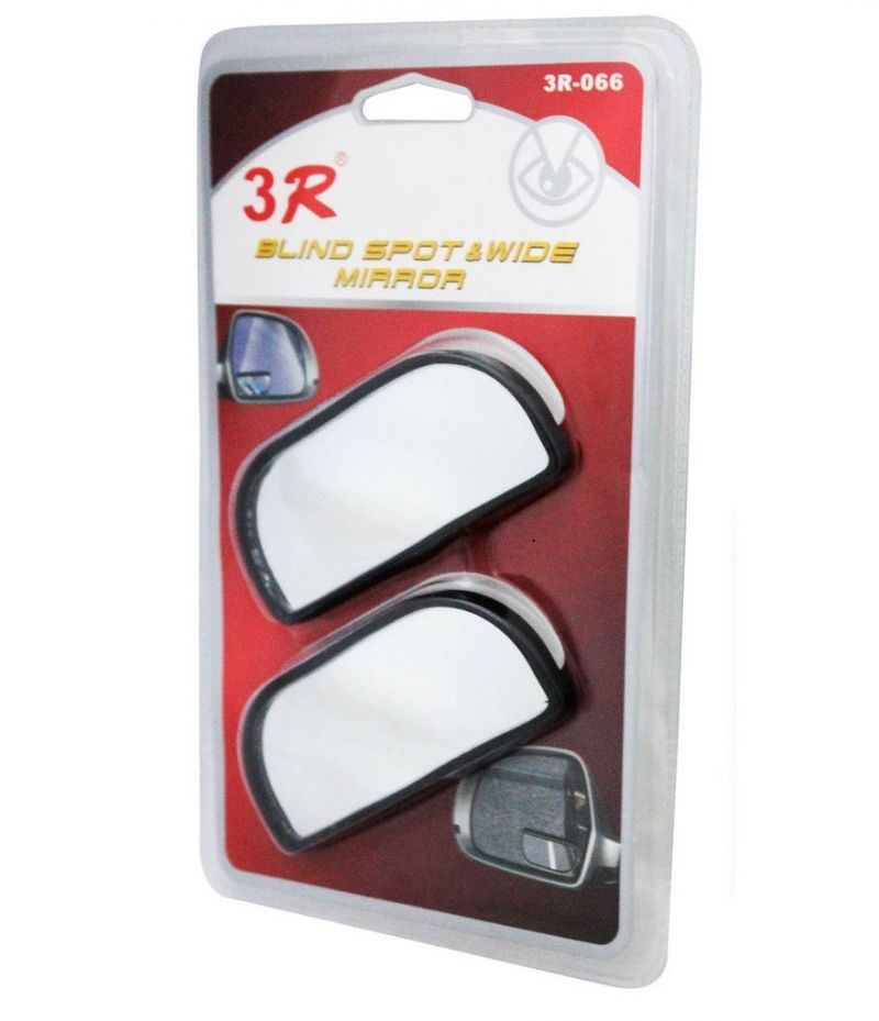 Buy Autoright 3r Rectangle Car Blind Spot Side Rear View Mirror For Tata Indica Vista online