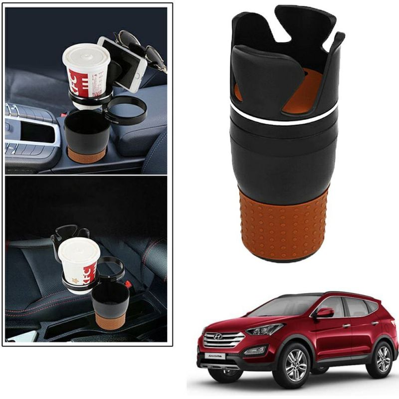 Buy Autoright 5-in-1 Car Cup / Car Sunglass / Car Mobile Holder Storage Cup For Hyundai Xcent online