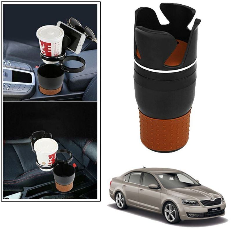 Buy Autoright 5-in-1 Car Cup / Car Sunglass / Car Mobile Holder Storage Cup For Skoda Octavia online