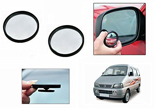 Buy Autoright 3r Round Flexible Car Blind Spot Rear Side Mirror Set Of 2-maruti Versa online