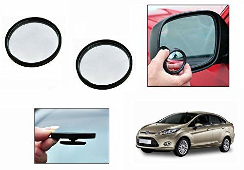 Buy Autoright 3r Round Flexible Car Blind Spot Rear Side Mirror Set Of 2-ford Fiesta online