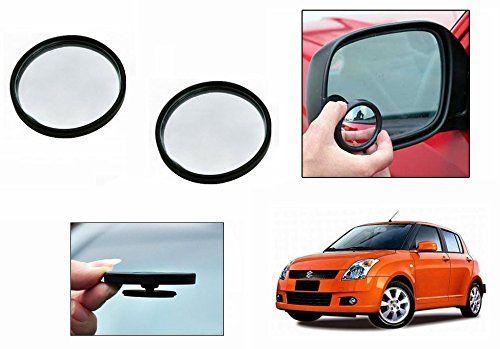 Buy Autoright 3r Round Flexible Car Blind Spot Rear Side Mirror Set Of 2-maruti Swift Old online