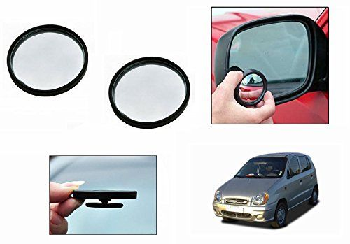 Buy Autoright 3r Round Flexible Car Blind Spot Rear Side Mirror Set Of 2-hyundai Santro online