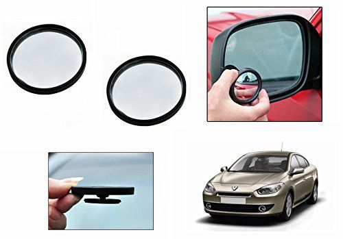 Buy Autoright 3r Round Flexible Car Blind Spot Rear Side Mirror Set Of 2-renault Fluence online