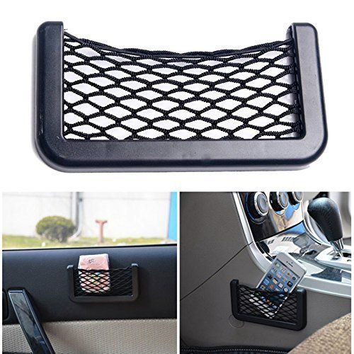 Buy Autoright 7.7 Inches Net Type Mobile Holder/pocket Organizer/string Bag Mobile Holder Universal Size For Maruti Suzuki Omni (maruti Van) online