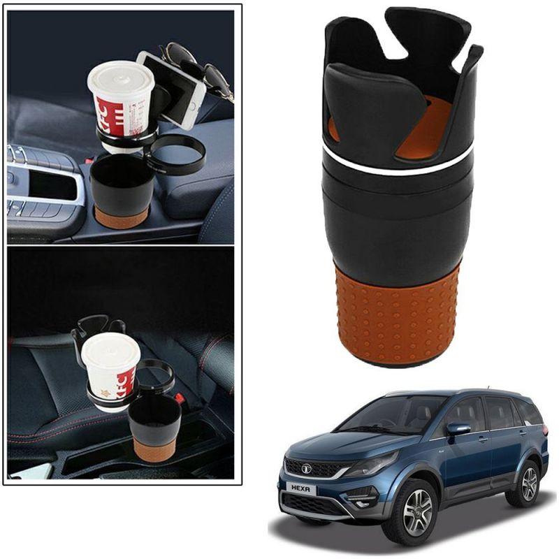 Buy Autoright 5-in-1 Car Cup / Car Sunglass / Car Mobile Holder Storage Cup For Tata Hexa online