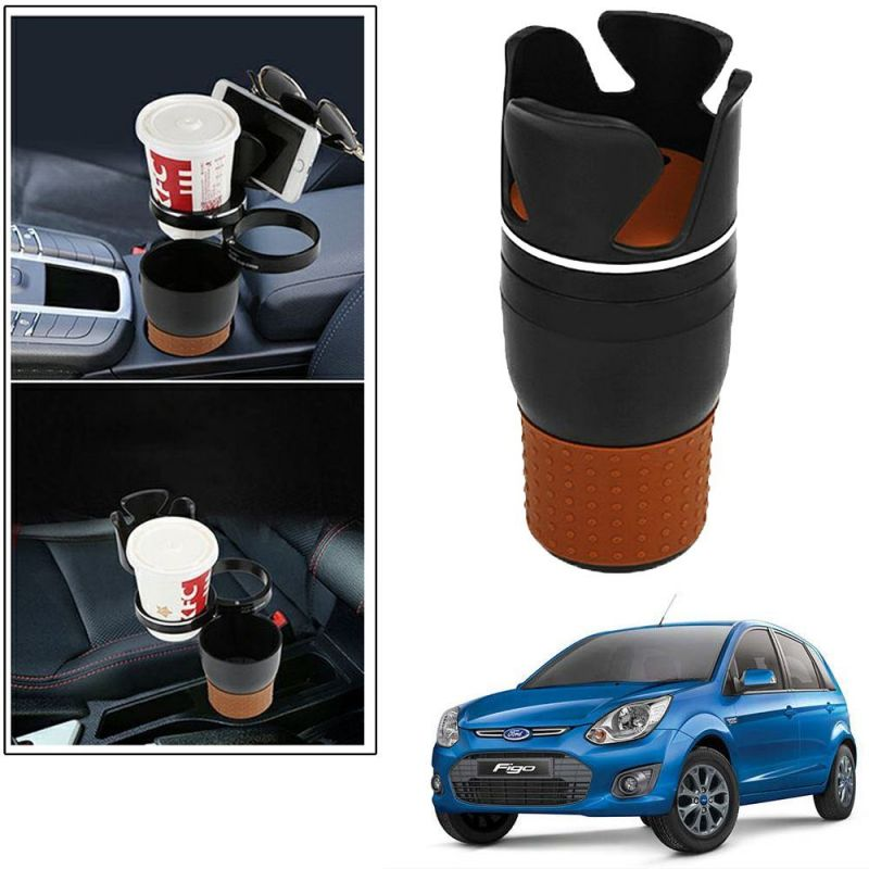 Buy Autoright 5-in-1 Car Cup / Car Sunglass / Car Mobile Holder Storage Cup For Ford Figo Old online