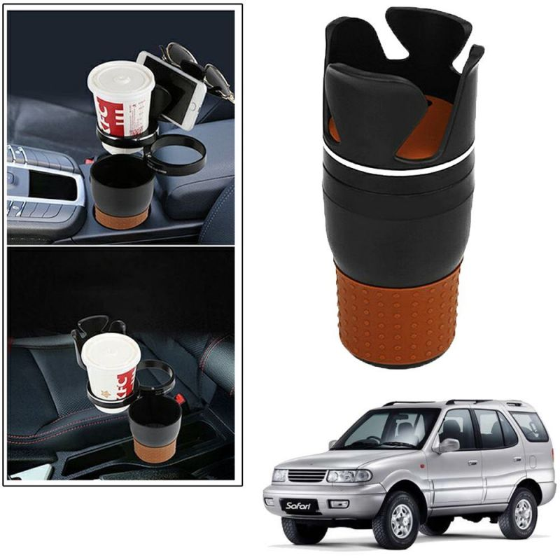 Buy Autoright 5-in-1 Car Cup / Car Sunglass / Car Mobile Holder Storage Cup For Tata Safari online