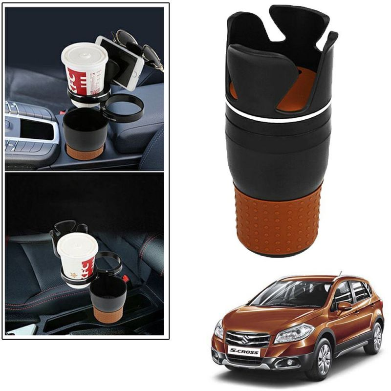 Buy Autoright 5-in-1 Car Cup / Car Sunglass / Car Mobile Holder Storage Cup For Maruti Suzuki Scross online