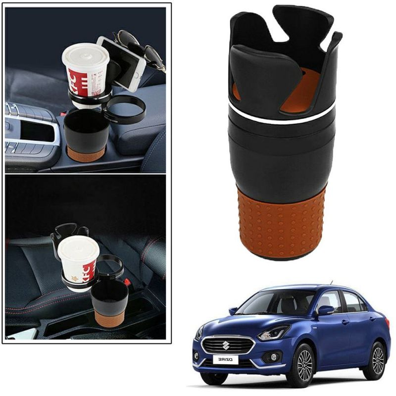 Buy Autoright 5-in-1 Car Cup / Car Sunglass / Car Mobile Holder Storage Cup For Maruti Suzuki Dzire Old online