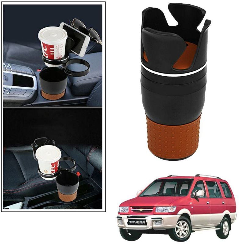 Buy Autoright 5-in-1 Car Cup / Car Sunglass / Car Mobile Holder Storage Cup For Chevrolet Tavera online