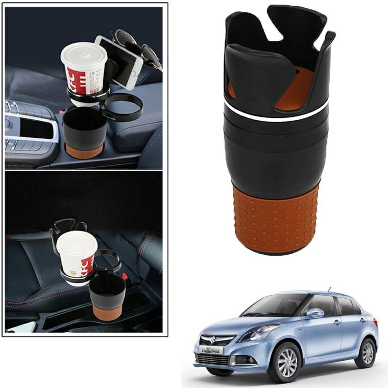 Buy Autoright 5-in-1 Car Cup / Car Sunglass / Car Mobile Holder Storage Cup For Maruti Suzuki Dzire 2017 online