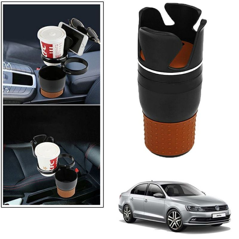 Buy Autoright 5-in-1 Car Cup / Car Sunglass / Car Mobile Holder Storage Cup For Volkswagen Jetta online