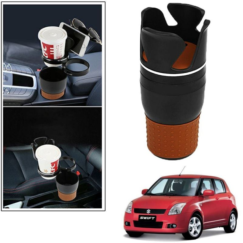 Buy Autoright 5-in-1 Car Cup / Car Sunglass / Car Mobile Holder Storage Cup For Maruti Suzuki Swift Old online