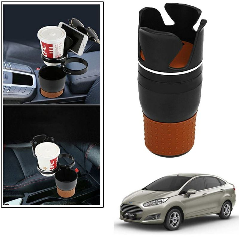 Buy Autoright 5-in-1 Car Cup / Car Sunglass / Car Mobile Holder Storage Cup For Ford Fiesta online