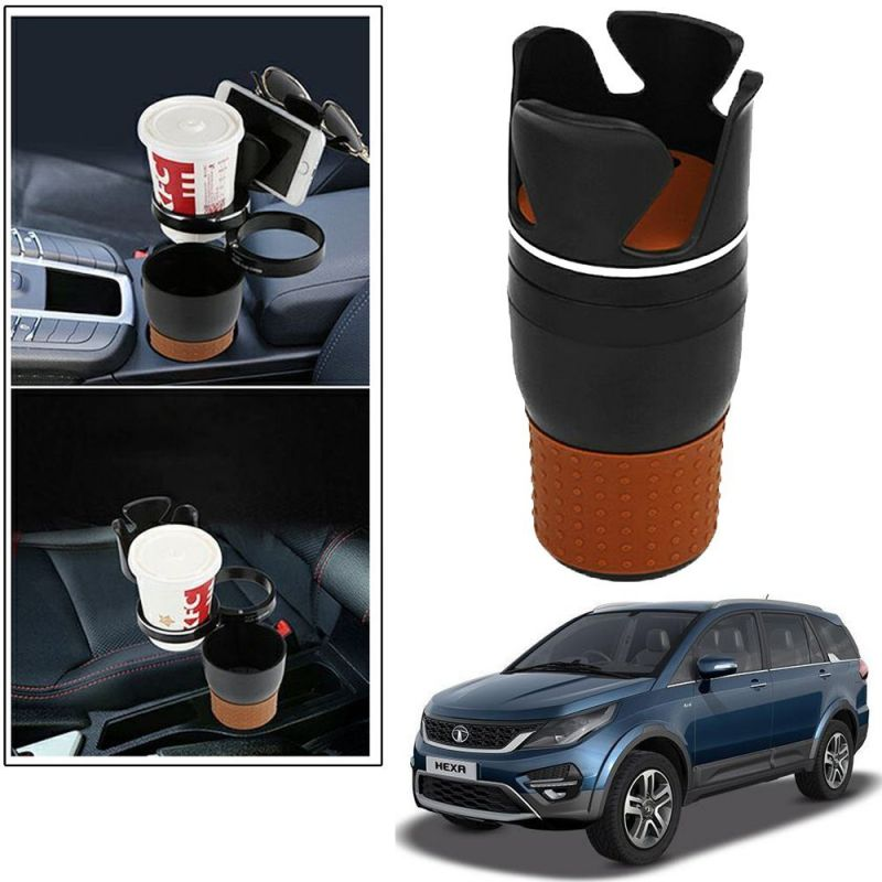 Buy Autoright 5-in-1 Car Cup / Car Sunglass / Car Mobile Holder Storage Cup For Tata Tigor online